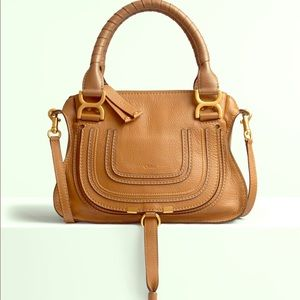 Small double carry Chloe Marcie bag..